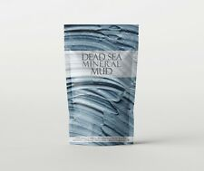 Dead Sea Mineral Mud - 100% Pure - 1Kg (RM1KDEADSEAMUD)
