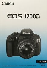 Canon EOS 1200D Manual - Printed & Professionally Bound Size A5 - NEW 342 Pages