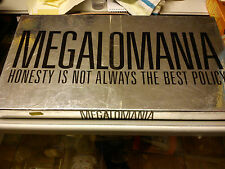 HENRY GAMES' MEGALOMANIA'. GAME IS COMPLETE.