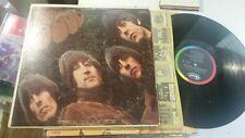 The Beatles Rubber Soul LP Capitol Rainbow band t2442 mono PIG/T2G matrix etch!!