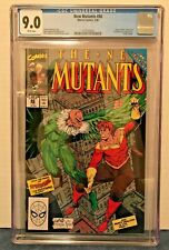 NEW MUTA. 86, 87 + 88 CGC 9.0, 7.5 + 8.5 WP X2 + O-W/WP 1ST CAM APP. 1 + 2 CABLE