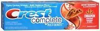 Crest Whitening Expressions Toothpaste Cinnamon Rush 6 oz (Pack of 6)