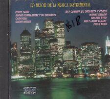 Percy Faith Glenn Miller Ray Connif Lo Mejor De La Musica Instrumental CD Sealed