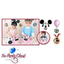 DISNEY MICKEY MOUSE PARTY GAME Build A Mickey Head Balloon Kit Birthday Party