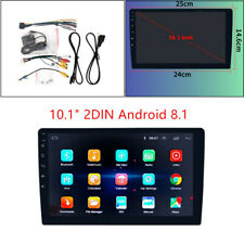 """10.1"""" 2DIN Android 8.1 Car Stereo Quad Core WIFI DAB GPS Nav Radio Video Player"""