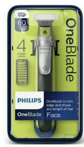 Philips One Blade Shaver Beard Trimmer 4 x Stubble Combs Rechargeable QP2530/25