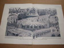 *** L'Illustration (d) 3436 (02/01/1909) - Fête de Momus U.S.A. / Quartier Latin