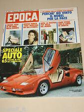 EPOCA=1982/1675=EDWIGE FENECH=JOHN DE LOREAN=VALERIO ZURLINI=ROSSELLA FALK=