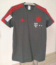 FC Bayern München T - Shirt Trainer 2018/19 mit Sponsoren, Matchworn, Teamwear