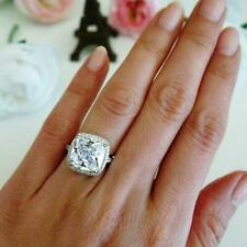 Big 5 Carat Diamond Cushion Cut Celebrity Engagement Rings Inspired Bridal Gift