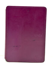 Genuine Amazon Kindle Leather Cover 5th Generation 2012 release Purple
