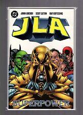 JLA Superpower NM Eaton, Mark Antaeus Joins, Prestige Format