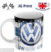 Volkswagen VW retro oil can vintage mug - ceramic