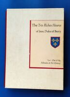 THE TRES RICHES HEURES OF JEAN DUKE OF BERRY * JEAN LONGNON * 1969 * W/ SLIPCASE