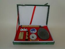 Traditional Chinese Calligraphy / painting set in rectangular presentation box