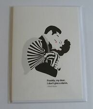 GONE WITH THE WIND CARD BLANK INSIDE