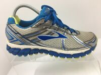 Brooks Adrenaline GTS 15 Blue Athletic Running Shoes Sneakers Women's Size 9 M