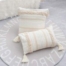 Woven Tufted Bohemian Boho Pillow Shell Throw Pillow Pillowcase Cushion Cover