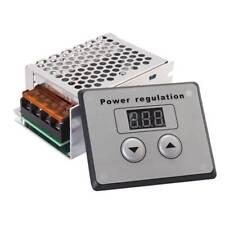 SCR de 4000W 220V AC Regulador de voltaje Controlador de temperatura de vel S8C4