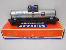 Lionel 6-9153 Standard Oil Co. Chevron Tank Car O GAUGE