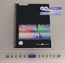 Tipps+Tricks Nr. 2 - Schulungs-DVD + Buch - MacroSystem