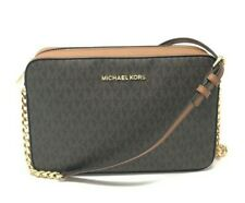 Michael Kors Jet Set East West Crossbody Women's Bag - Brown Acorn, Large