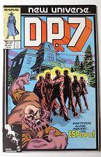 D.P. 7 #11 (Sep 1987, Marvel) New Universe DP7 (C4220)