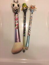 Lot Of 3 Tokidoki Makeup Brushes