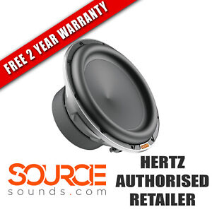 "Hertz Mille Pro 10"" MP250 D4.3 Subwoofer - FREE TWO YEAR WARRANTY"