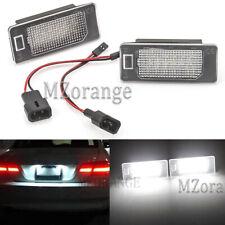 2x Car LED License Number Plate Light For BMW E82 E88 E90 E92 E39 E60 E61 E70 US