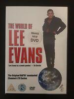 The World Of Lee Evans (DVD, 2006) Cert PG Big Value + Free Postage