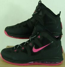 New Mens 14 NIKE Air Max Uptempo Fuse 360 Black Pink Shoes $175 555103-005