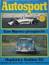 AUTOSPORT magazine 22 April 1982 Vol 87, Issue 3