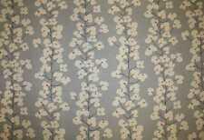John Lewis Curtain/Upholstery Fabric Design Wallflower 2.5 metres slate