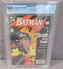 BATMAN #428 (Death of Robin) White CBCS 9.6 NM+ DC Comics 1988 In The Family cgc