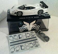 qq RG 0b FLY GB TRACK RACING PORSCHE 911 GT1 98 BLANCO