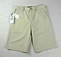 NWT! Polo By Ralph Lauren Boys Chino Shorts Khaki Basic Sand Size 10