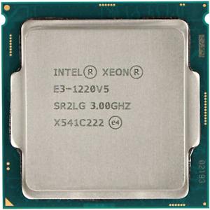 Intel Xeon E3-1220V5 SR2LG @ 3.00Ghz Server CPU Processor