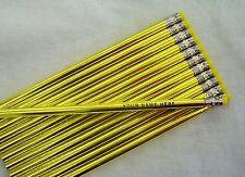 """24 Glitzy """"Super Rich Foil""""  Personalized Pencils"""
