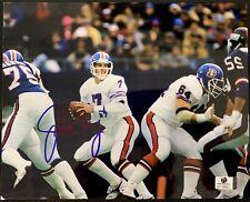 John Elway Denver Broncos Signed 8x10 Photo Autographed GA COA