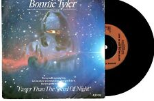 """BONNIE TYLER - FASTER THAN THE SPEED OF NIGHT - 7"""" 45 VINYL RECORD PIC SLV 1983"""