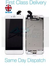 iPhone 6 Plus White LCD Screen with Home Button, Speaker, Camera and Adhesive