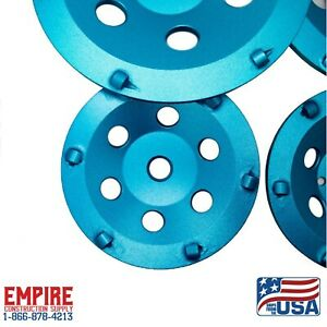 """7""""(Slip-On) PCD Grinding Cup Wheel Polycrystalline Grinding Disc for Epoxy"""