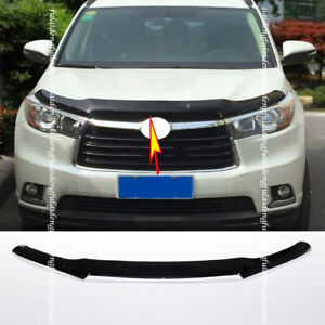 For Toyota Highlander 15-19 Hood Protector Deflector Bonnet Guard Bra Bug Guard