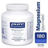 Pure Encapsulations - Magnesium (glycinate) 180 Capsules
