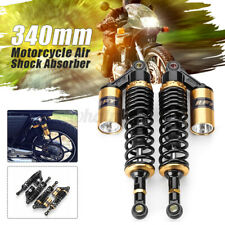 13'' 340mm Motorcycle Rear Air Shock Absorber Suspension For Suzuki Honda UK
