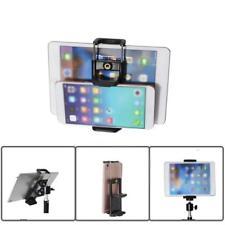For Cell Phone Tablet Camera Stand 1/4 Clip Tripod Holder Bracket Holder Mount~