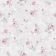 RG35738-Jardín de Rosas Rosas Flores Gris Rosa GALERIE WALLPAPER