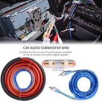 2800W ABS Câblage Kit pour Voiture Audio Subwoofer Amplificateur Costume fusible