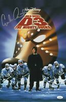 Emilio Estevez Autograph 11x17 Photo The Mighty Ducks Signed JSA COA 3